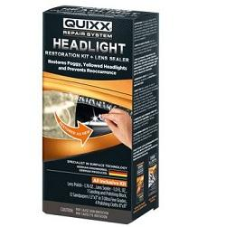 Quixx Headlight Restorer Cleaner Polish Kit