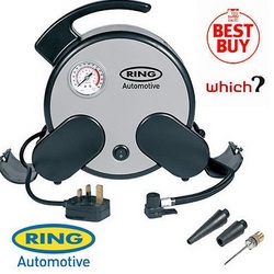 Ring RAC750 230 Volt Mains Power Rapid Air Tyre Compressor