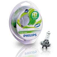 Ford Fiesta 2008 onwards Philips EcoVision Low Energy Headlight Bulbs