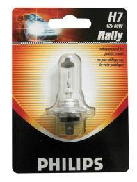 Peugeot 206 1998 to 2000 Philips Rally High Wattage Car Bulbs