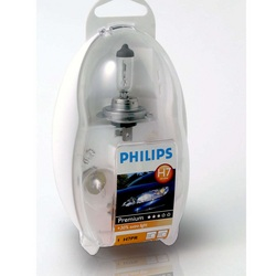 Audi A4 1999 onwards Philips Easy Vision Care Spare Car Bulbs Kit
