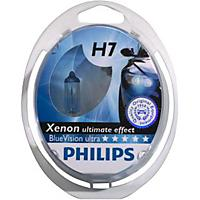 Bmw X5 2002 to 2004 Philips Blue Vision Ultra Xenon Bulbs