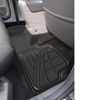 Volkswagen Vw Tiguan 2007 onwards Full Width Rear Rubber Car Mat
