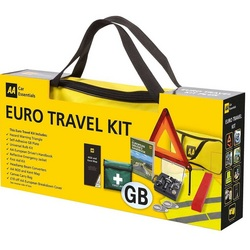 AA European Driving Travel Kit Gift Pack