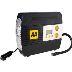 AA 12V Digital Air Compressor Car Tyre Inflator LED Torch
