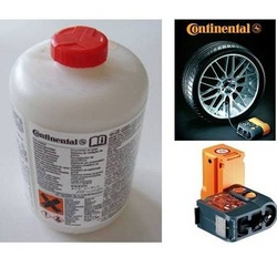 Mercedes Benz Cla class 2013 on Continental Compressor and Tyre Sealant Kit