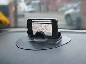 Non Slip Gel Gadget Holder for iPhone iPad