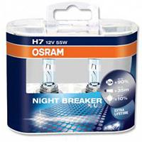 Audi A2 all models Osram Night Breaker Plus +90% xenon bulbs