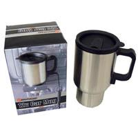 12v Heated Aluminium Travel Mug