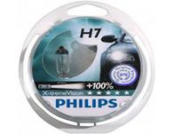 Philips Xtreme Vision +100% xenon bulbs - H7 twin pack
