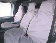 Town and Country Commercial Van Front 3 Seat Covers Set - Mercedes Benz Vito 2010 onwards