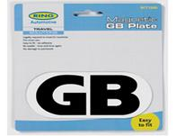 Magnetic GB Plate Badge Sticker - Magnetic GB Plate