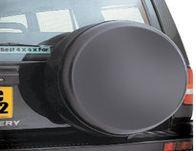 4x4 Blank Moulded Spare Wheel Cover - Blank 3D Moulded 4x4 Spare Wheel Cover