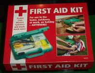 In Car Travel First Aid Kit