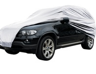 Waterproof and Lined Full Car Cover - Extra Large 4x4 MPV