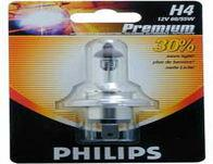 Philips Premium +30% Xenon Bulbs - H4 pair