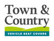 View Ford Transit 1995 to 2006 Town and Country Commercial Van Front 3 Seat Covers Set additional image