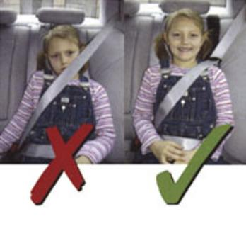 Child Seat Belt Comfort Height Adjuster Seat Belt