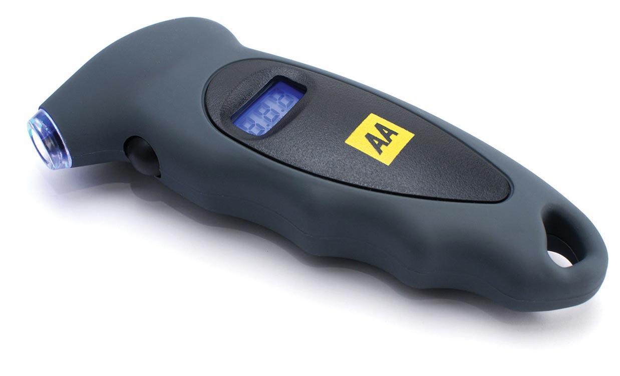 Aa Digital Tyre Pressure Gauge At Care4car Com